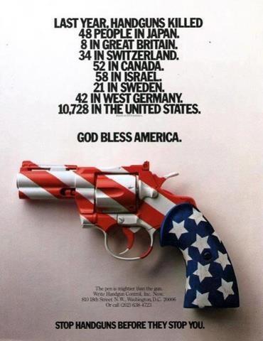 handguns poster