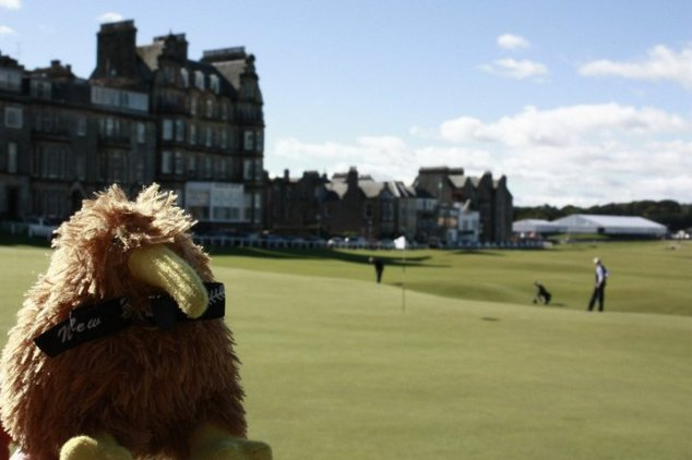 a round at the royal and ancient at St Andrews
