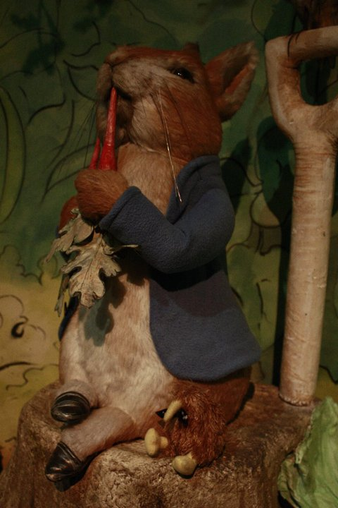my mate peter at beatrix potter world