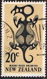 taniwha stamp